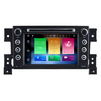 Hifimax Android 8.0 Touch Screen Car DVD Player Navigation SD Card For Suzuki Grand Vitara 2006 (2005-2012) Multimedia Radio