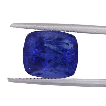 superior quality cushion cut natural AAAA tanzanite stones