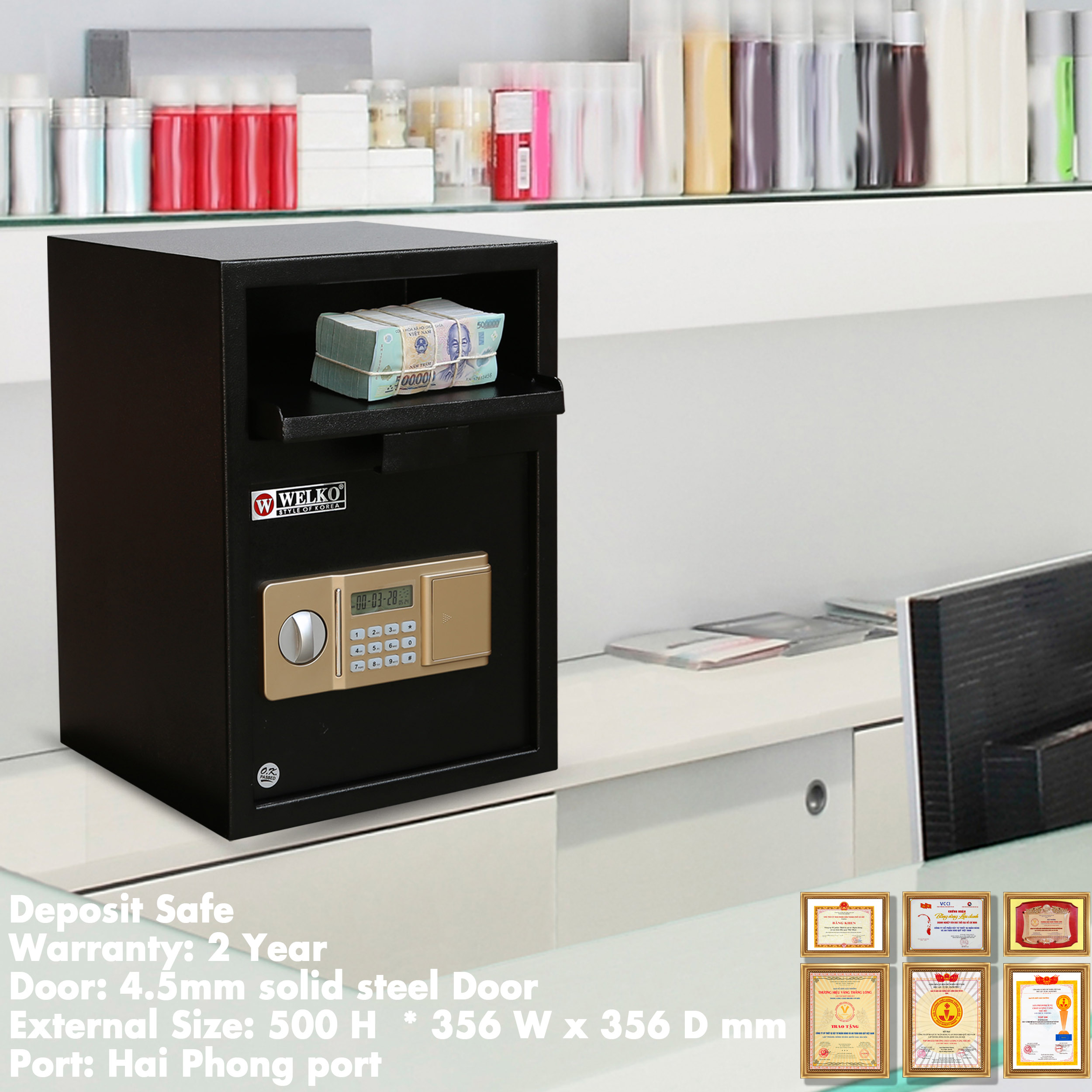 Deposit Safe Manufacturers and Suppliers