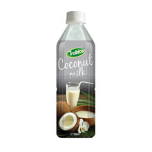 500 ml Coconut Milk With Pulp from Viet Nam-high quality-VietNam Manufacturer-OEM Fruit Juice-From Trobico Brand