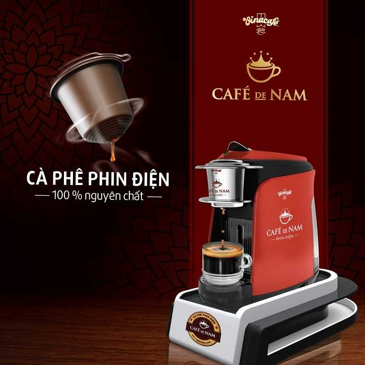 Vinacafe - Cafe De Nam - Automatic Capsule Coffee Making Machine