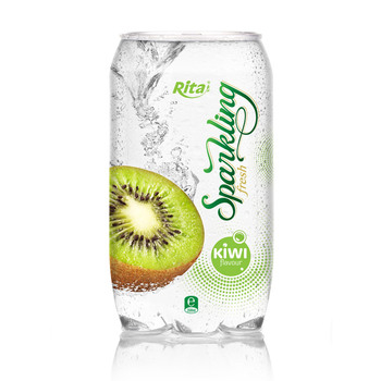 Rita big brand Sparkling kiwi juice drink 350ml Pet bottle