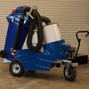vacuum suction hand push sweeper, 100 % electric sweeper, vacuum machinery for Street cleaning