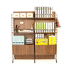 EZBO Office Furniture Modern File Cabinet Wooden 6 feet