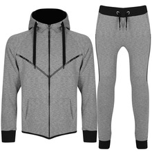 Custom made Men Jogging Suit/Custom Gym Polyester Slim Fitted White Mens Tracksuit