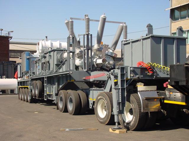 Mobile Containerised substation