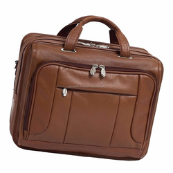 business style men laptop bags with different size / women business laptop bags / simple leather bags for laptop
