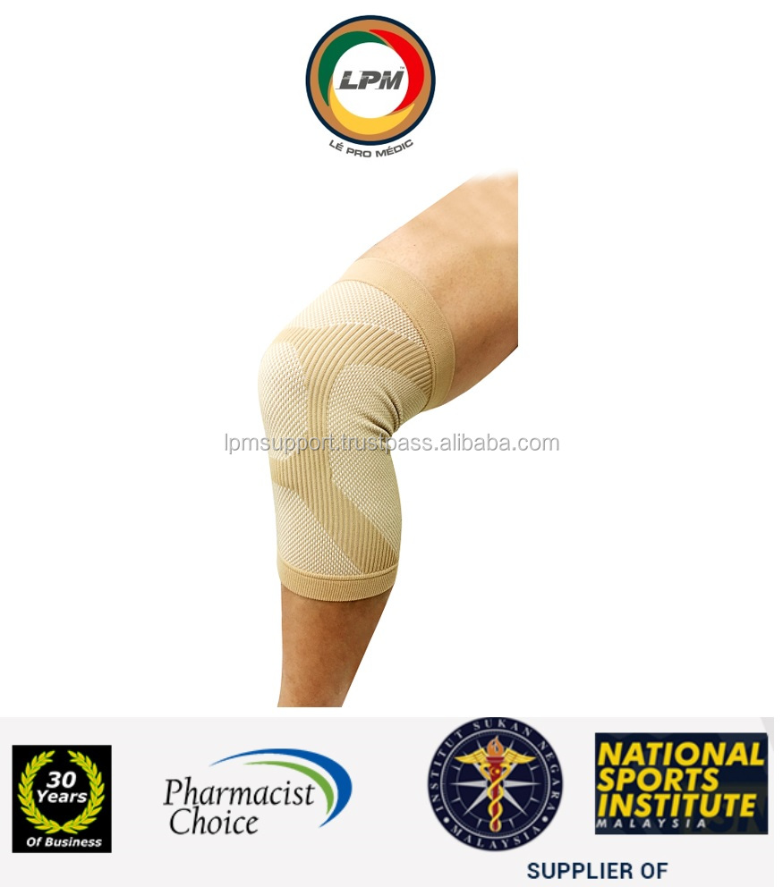 LPM(Pharmacist,National Sports) NR-RAY Infrared 3D Knee Elastic Knitted Sleeve Compression Brace Support Protect