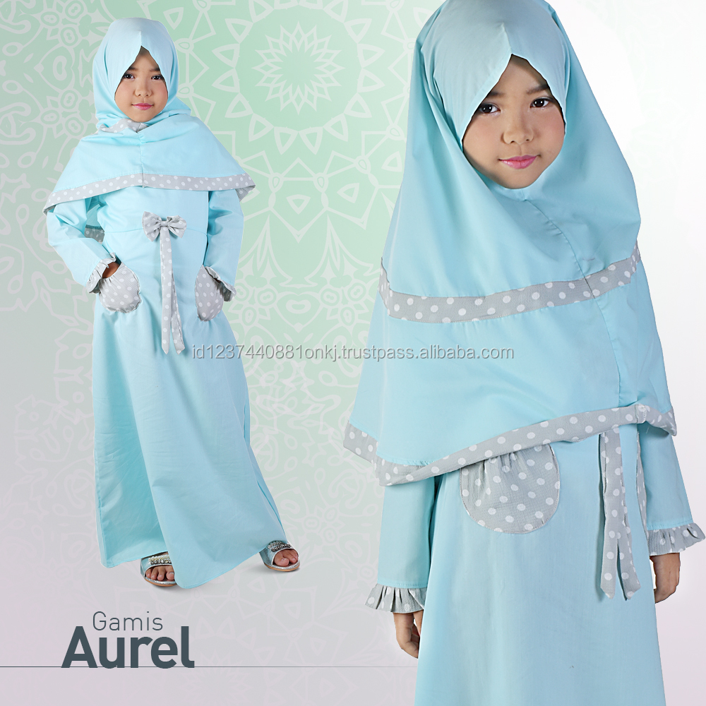 Best Collection 2017 Gamis Aurel Islamic Clothing For Kids