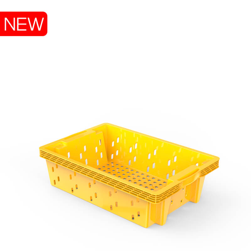 PLASTIC CRATE - FISH CRATE No.266 Duy Tan Vietnam - Export to Philippines