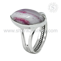 Splendid striped onyx gemstone ring handmade 925 sterling silver rings jewelry manufacturer india