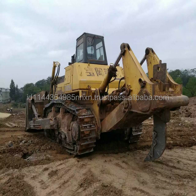 D375A-3 KOMATSU used crawler bulldozer Japan's original shantui bulldozer spare parts in shanghai for sell
