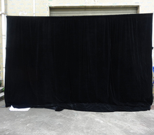 theater backdrop and stage curtain pipe and drape