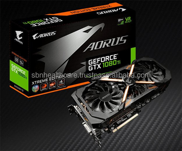 Gigabyte AORUS GeForce GTX 1080 Ti Xtreme Edition 11GB Graphic Cards