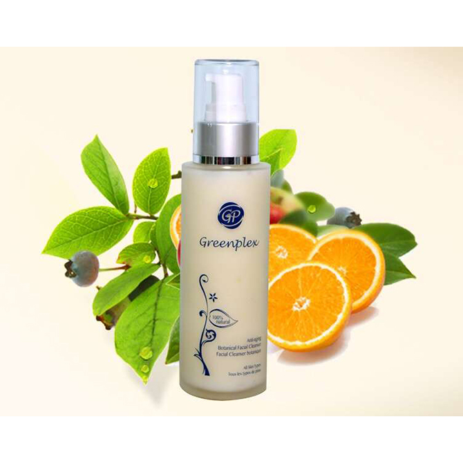 Canada supplier green tea deep cleansing facial skin whitening face cleanser with high quality