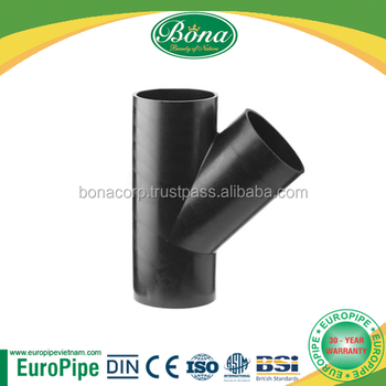 "Fabricated ""Y"" Joint HDPE"