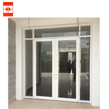 High quality of Aluminium Single or Double Swing Door c/w 5mm clear glass