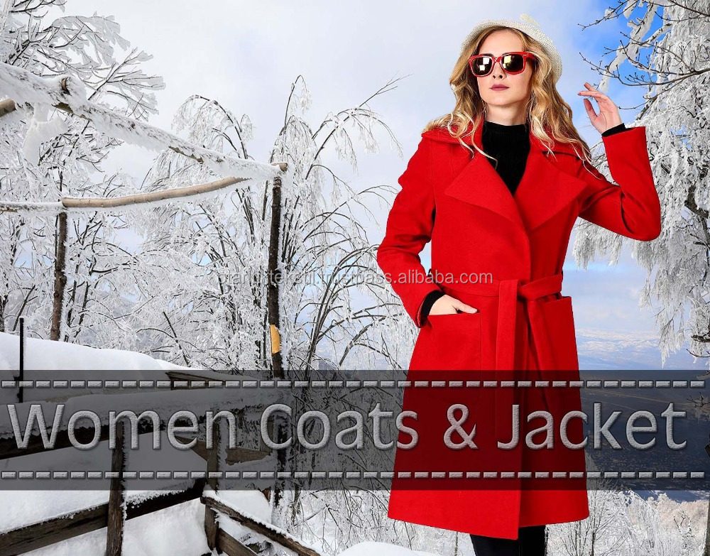 Snow coats, Women's Wool Coat Fur Trim Hooded Parka Jacket, wool jacket