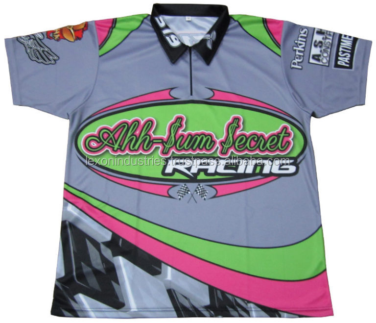 Custom design sublimation motocrosse jersey