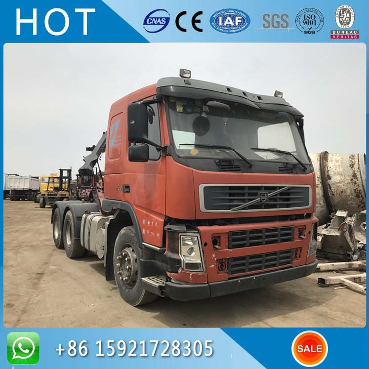 FH12 FM12 420 Volvo China Used Truck Tractor Head 6x4 For Sale