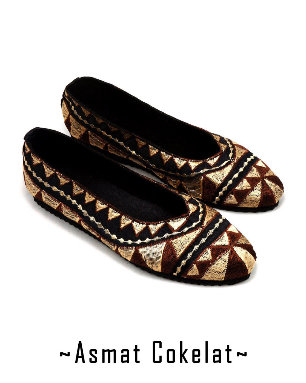 Shoes Embroidery - Asmat Series
