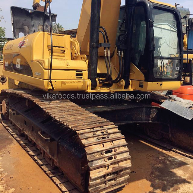 High quality Cat/Caterpillar large track hydraulic excavator ,used/secondhand CAT 336D /336DL 36 TONS digger for cheap sale
