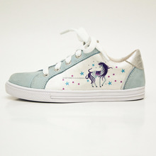 OEM Factory - Summer Spring girl outdoor shoes, high quality printing with cute pony design
