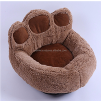 Wholesale Newest Design Luxury Bear Paws Pet Dog Cat Bed House