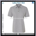 Blank slim fit ladies polo t shirts