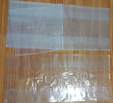 Transparent food grade packaging plastic bags