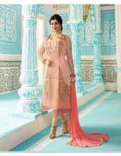 Latest women faux georgette designer salwar kameez.