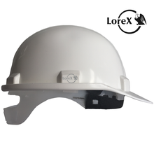 LOREX LR-065 White Safety Helmet with Sweat Pad