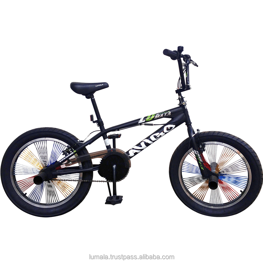 "20"" Freestyle BMX Bicycle with Coloured Spoke LUMALA AVIGO"