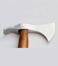 "High carbon steel Axe Polished ""Hickory"" Handle"