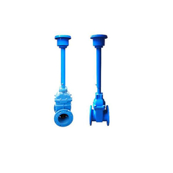 High pressure ductile iron long stem gate valve
