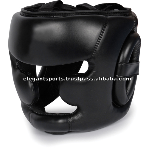 Custom Boxing Head Guards Leather Head Guards