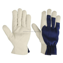 Leather Safety Gloves Fingers Protection Cut Resistant Metal Wire