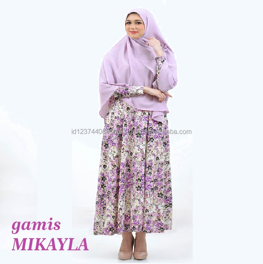 Best Collection 2017 Gamis Mikayla Islamic Clothing