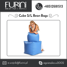 Cube Beanbag Available in Small and Large Shape