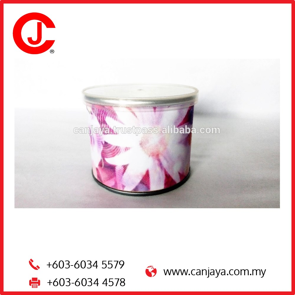 PP Cap Paper Canister Tube Can for Event Gift
