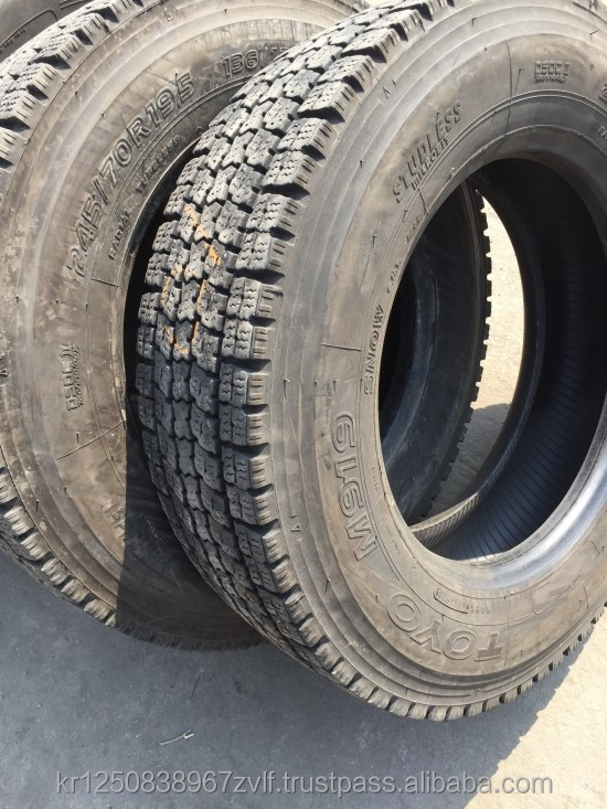 Japanese Used Off The Road Tires (22.5 Truck Tyres, Heavy Truck, Heavy Equipments) 11R 22.5 Tires 11R/22.5 R1