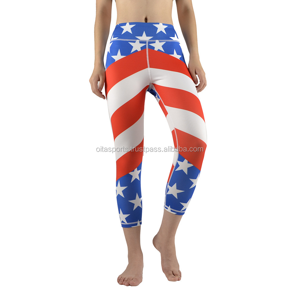 Athletic Custom Sublimation Printed Pants