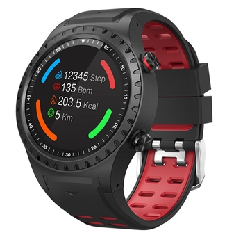 Newest GPS sport watch with compass pedometer BT 3.0+4.0 IP67 waterproof and remote capture