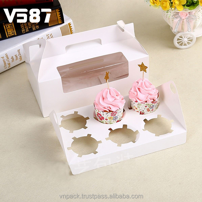 Cake Boxes, Cupcake Boxes & Inserts and window