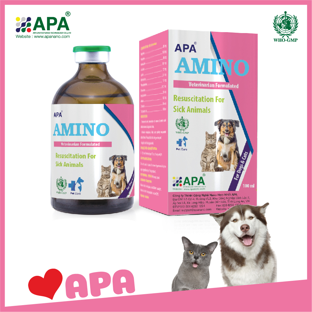 APA Amino| Veterinary Medicine with Manufacturing GMP- WHO| Pet Medicine| Horse Supplements
