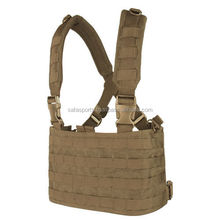 Tactical OPS Chest Rig COYOTE BROWN Operator's Front Modular MOLLE Panel