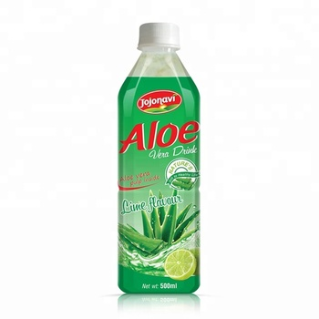 500ml Wholesale Aloe vera juice drink with Lime flavor