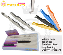 Volume Lash Japanise Stainless Steel Long Lashing Quality Tweezers From Stylish Beauty Industry