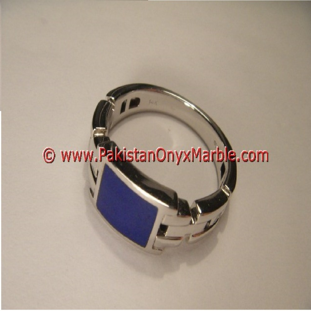 MOST POPULAR BEAUTIFUL GEMSTONE LAPIS LAZULI RINGS
