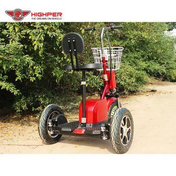 Adult 500W 48V20AH Electric Three Wheel Mobility Scooter, Handicapped Scooter with CE